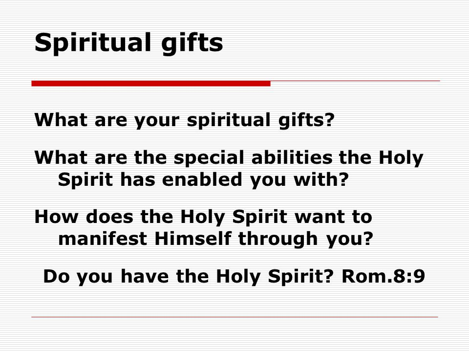 "1Corinthians 12:1-11 ""Now concerning spiritual gifts"