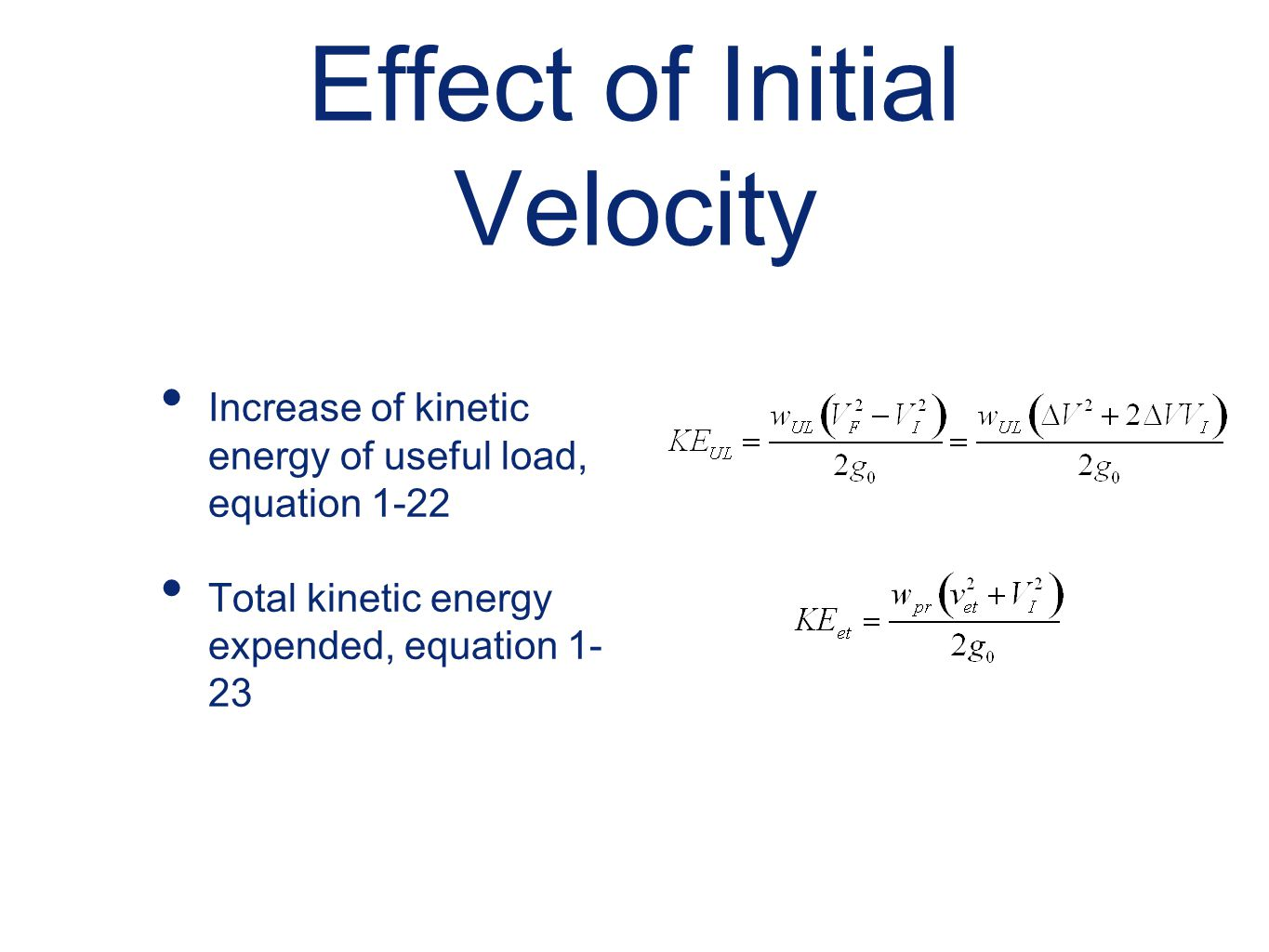 Equation To Find Initial Velocity