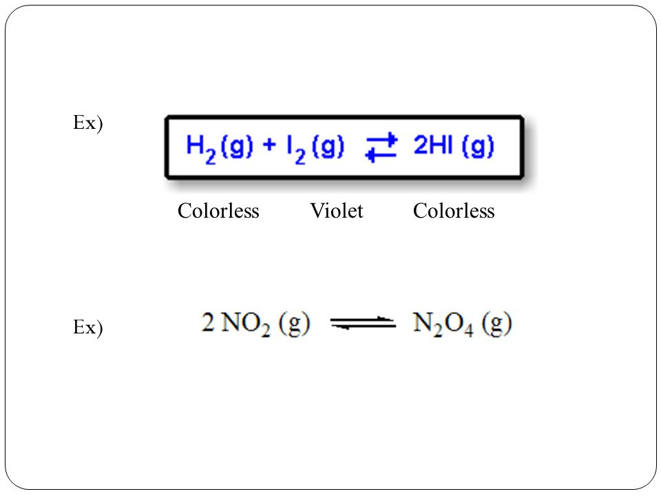 Equilibrium Chemistry ppt video online download