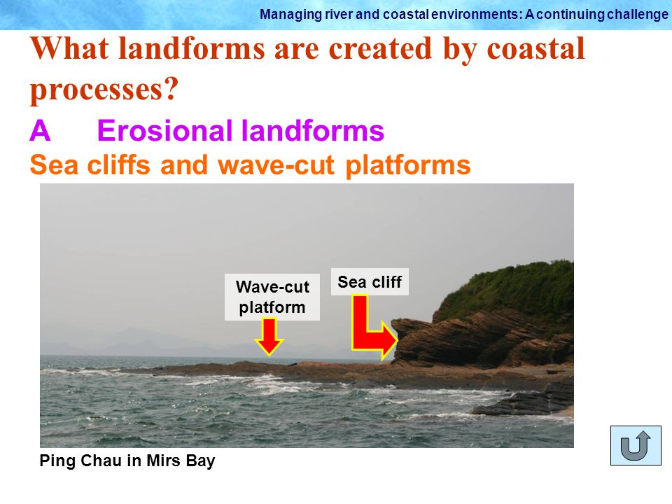 wave cut platform diagram things fall apart plot 2.4 how do coastal processes shape the land? part b. - ppt video online download