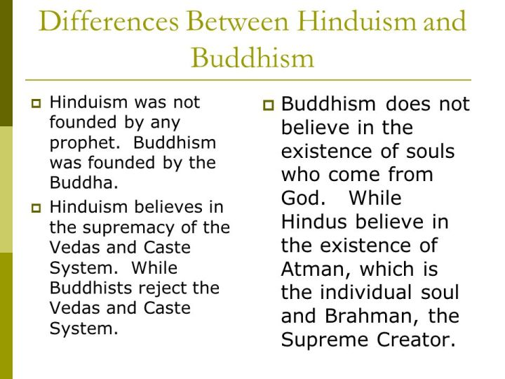 thesis comparing hinduism and buddhism