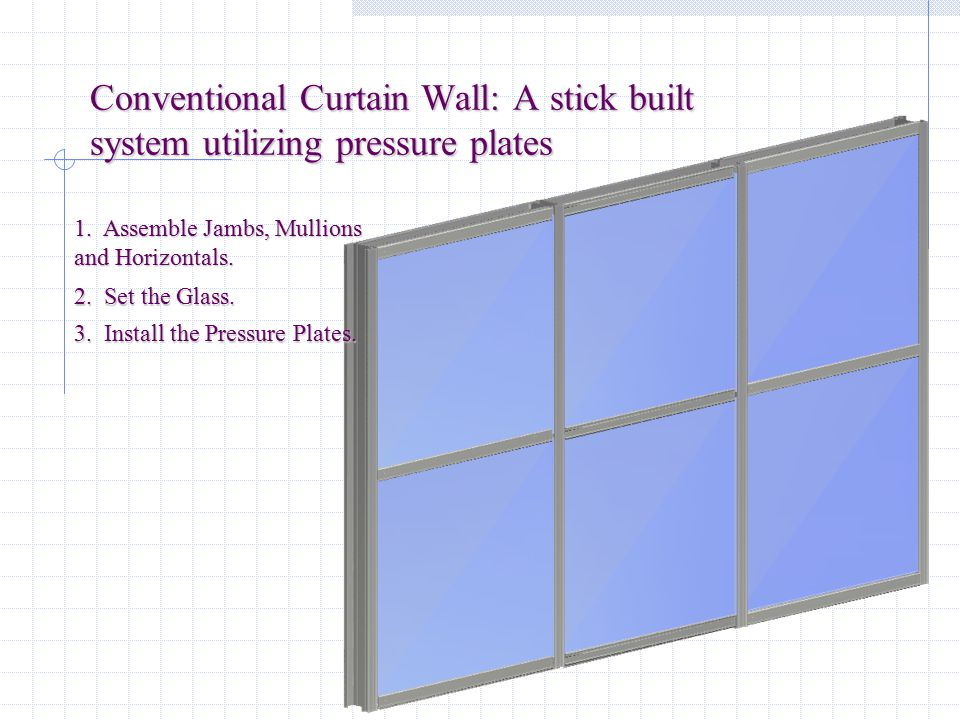 Stick Curtain Wall - Listitdallas