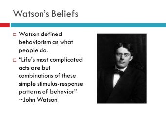 Resultado de imagen de behaviorism images