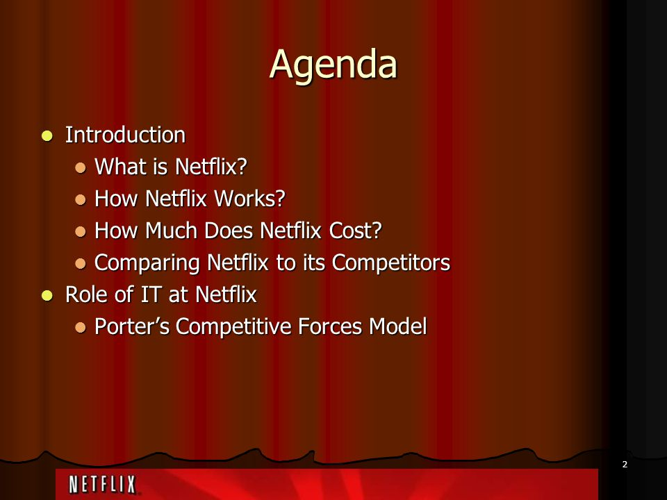 Netflix Porter Five Forces