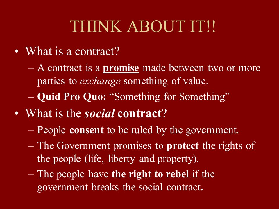 The Origins of the State and Social Contract Theory  ppt