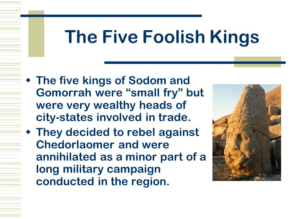 Image result for the five foolish kings