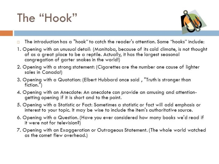 hooks for essays Awesome examples of good topic sentences for essays #13: examples of good hooks for essays examples of good hooks for persuasive essay ideal essays.
