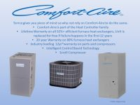 Who Is ? Comfort-Aire is part of the Heat Controller ...