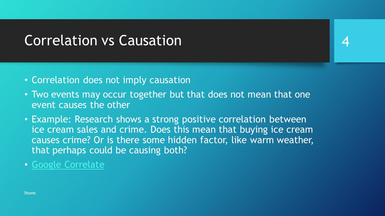 Correlation And Causation Ppt Video Online Download