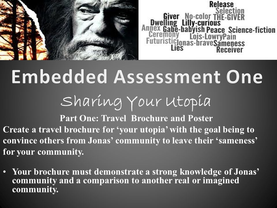 Embedded Assessment One Part One Travel Brochure And Poster Ppt