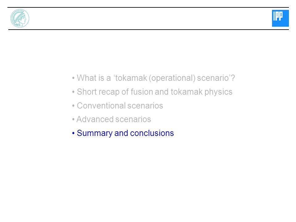 Standard and Advanced Tokamak Operation Scenarios for ITER