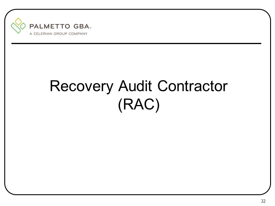 Palmetto GBA, Jurisdiction 11 MAC Provider Outreach and