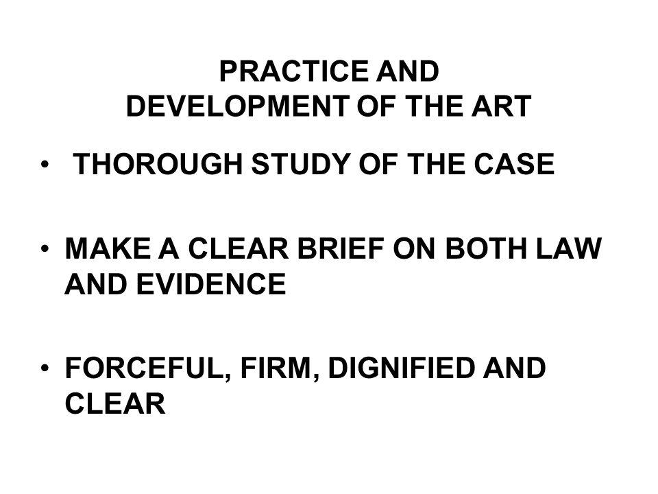 Advocacy case study presentation