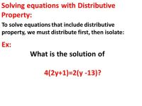 Khan Academy Solving Equations With The Distributive ...