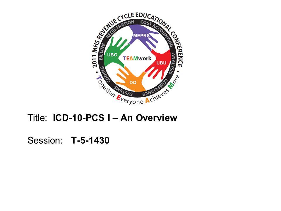 Title: ICD-10-PCS I