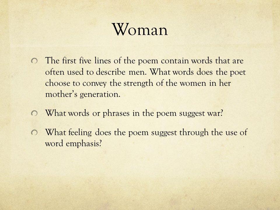 Poems Strength Female