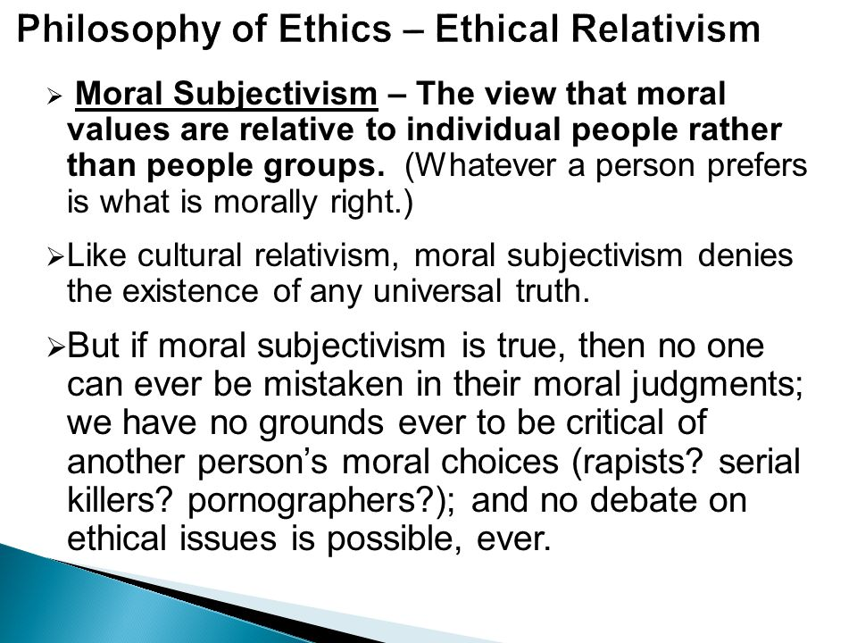 Truth Is Culturally Relative Essay Example