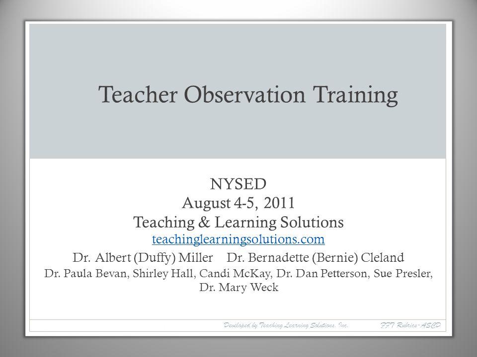 Nysed Teacher Evaluation Rubric - Ideas de diseño para el hogar
