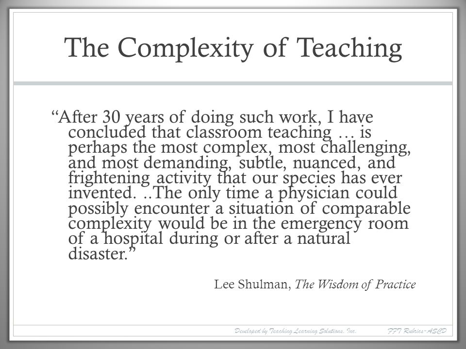 Teacher Observation Training  ppt download