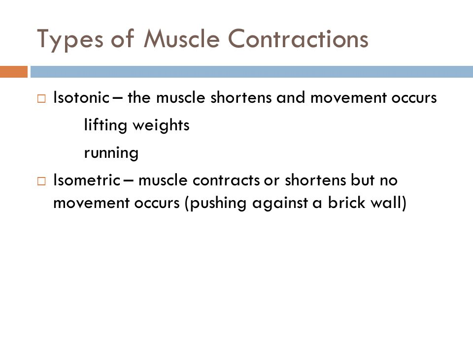 when contraction occurs