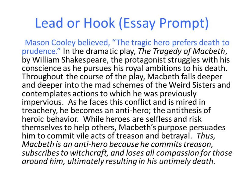 Good hooks for essays on heroes