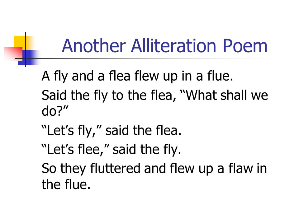Poems Alliteration Textpoems