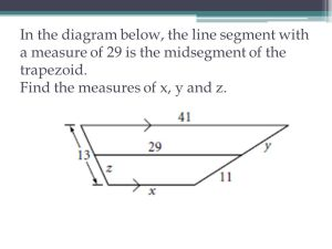 Unit 3– Quadrilaterals Review for Final Exam  ppt video