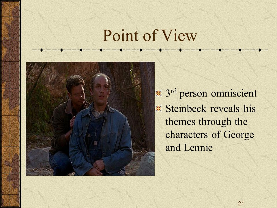 Of Mice And Men By John Steinbeck  Ppt Download