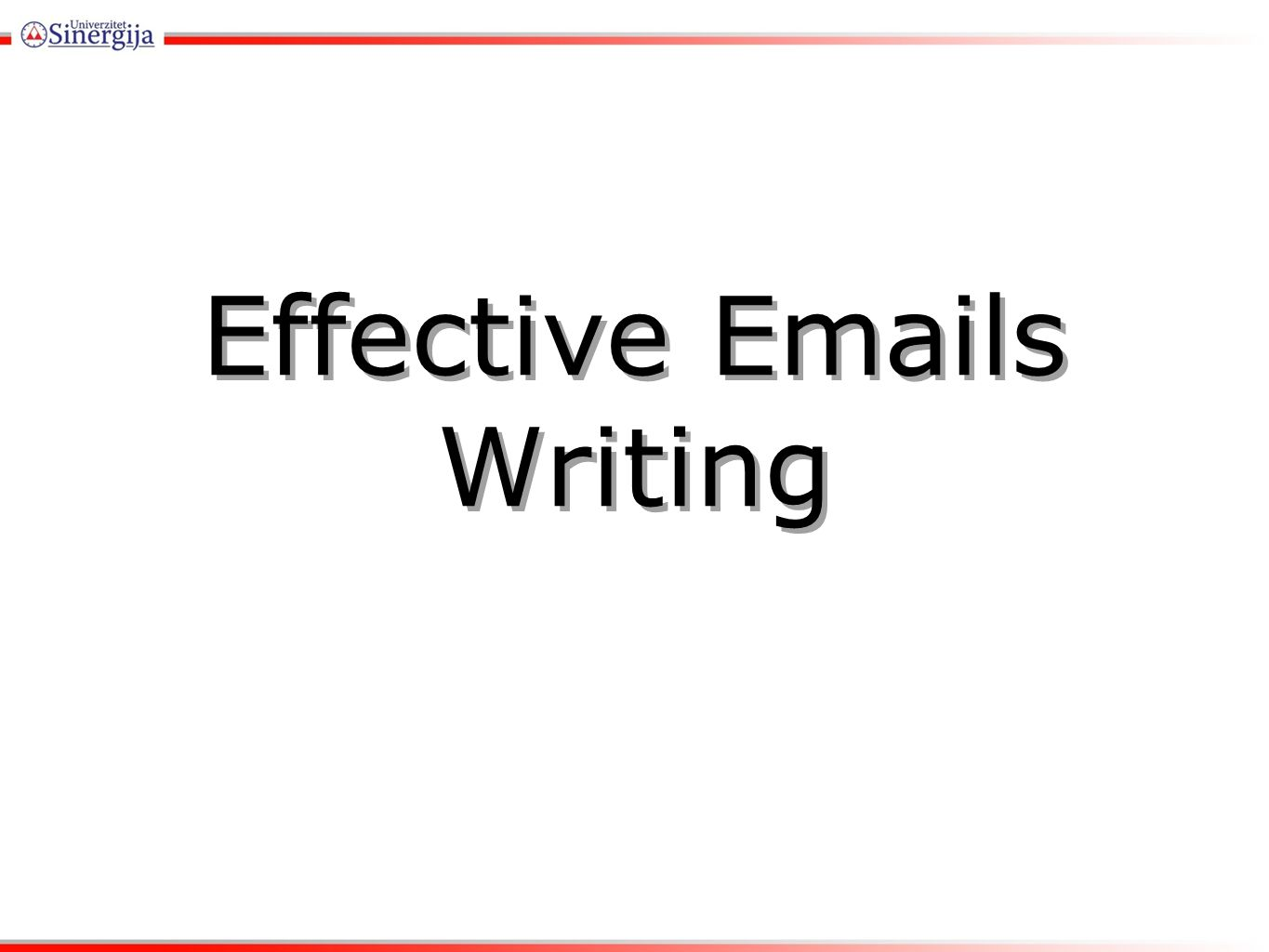 Effective s Writing Effective s RMU ppt video online download