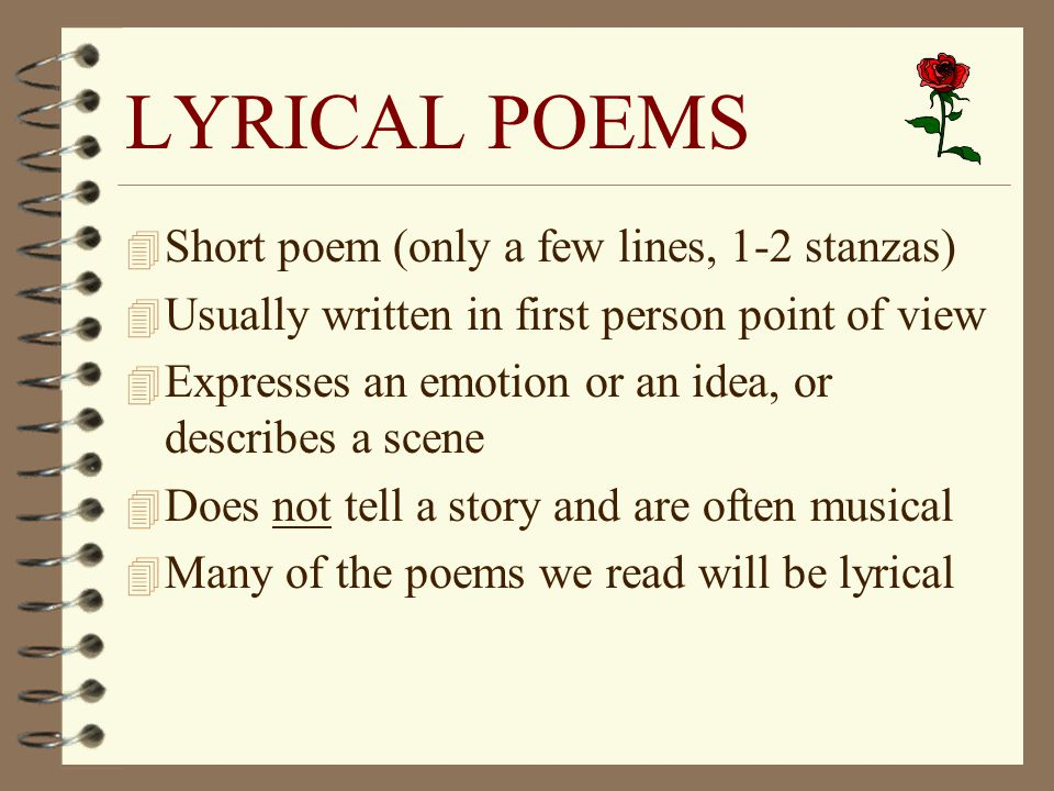 POETRY NOTES Ppt Video Online Download