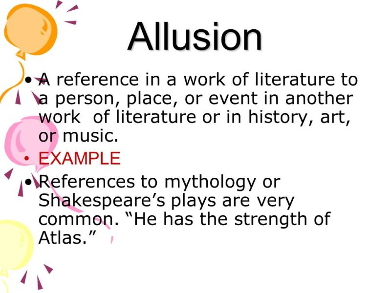 Allusion Poem Examples Image Collections Resume Cover Letter Examples