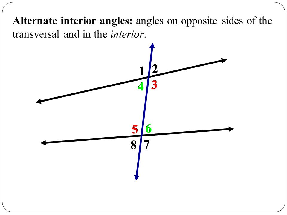 45 Introduction to Parallel Lines  ppt video online download