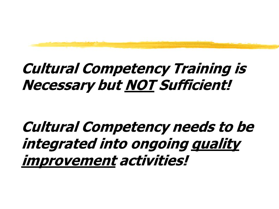 Developing, Implementing, and Evaluating Cultural