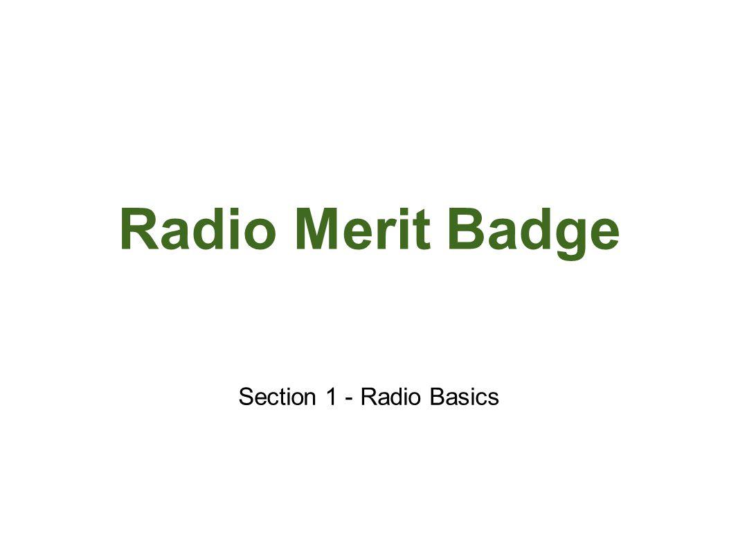 Radio Merit Badge Jota Ppt Video Online Download