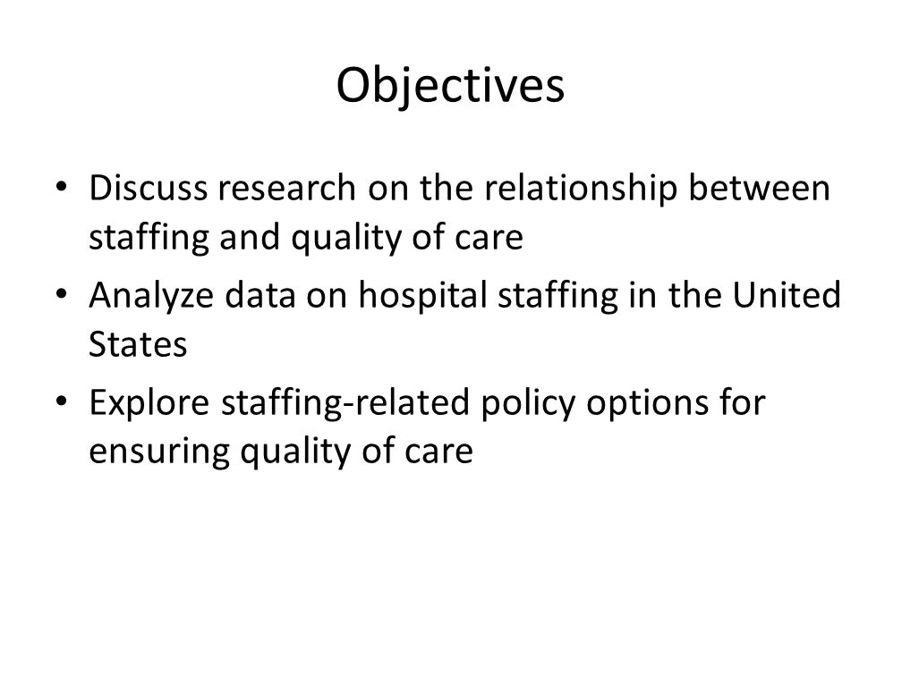 Patient Safety And Nurse Staffing Ppt Video Online Download