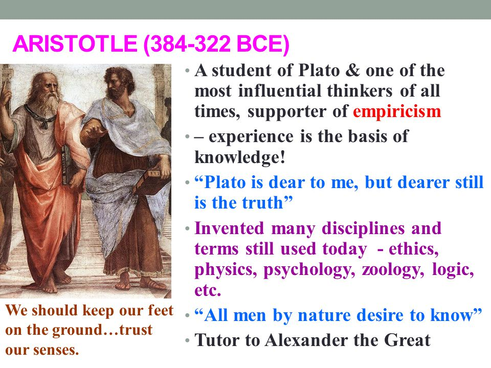PLATO BCE A Student Of Socrates And One Of The Most