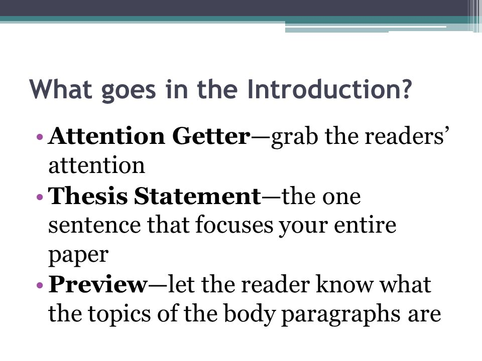 Research Paper Introduction Paragraph Ppt Video Online Download