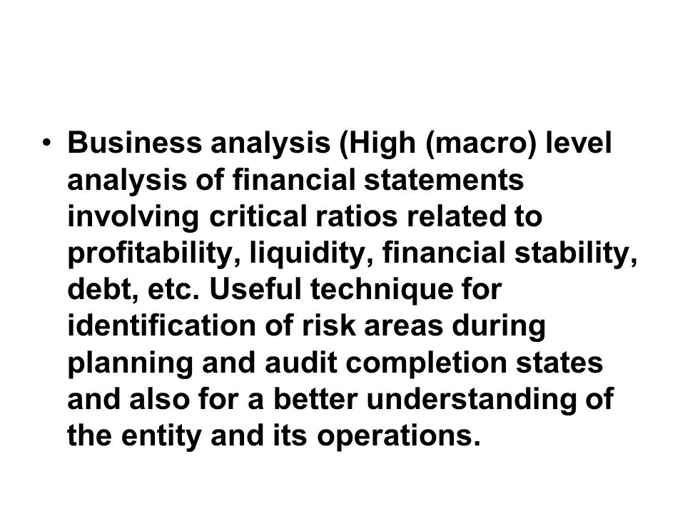 Introduction, Concepts and overview of Financial Attest