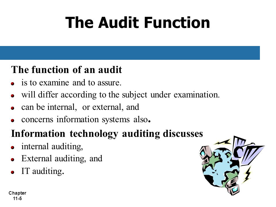 Chapter 11 Information Technology Auditing  ppt video
