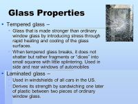Chapter 4 Glass. - ppt video online download