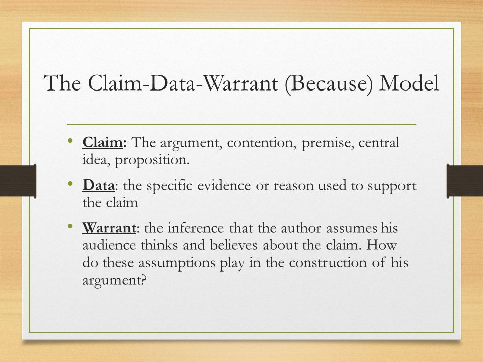 Structuring  Analyzing Arguments  ppt video online download