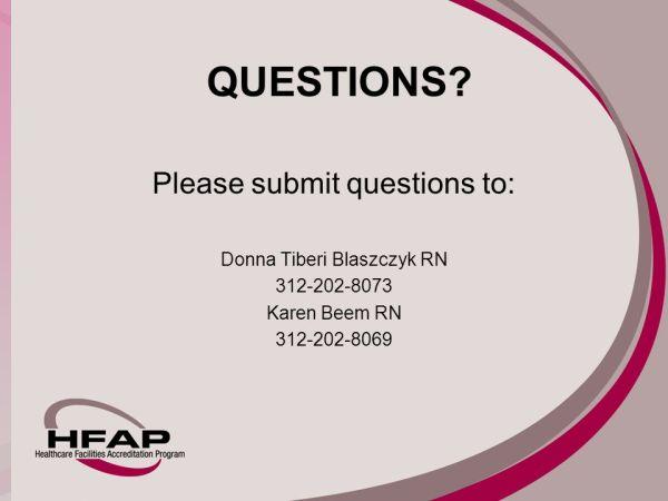 Donna Tiberi Blaszczyk RNBSMHA Karen Y Beem MS RN