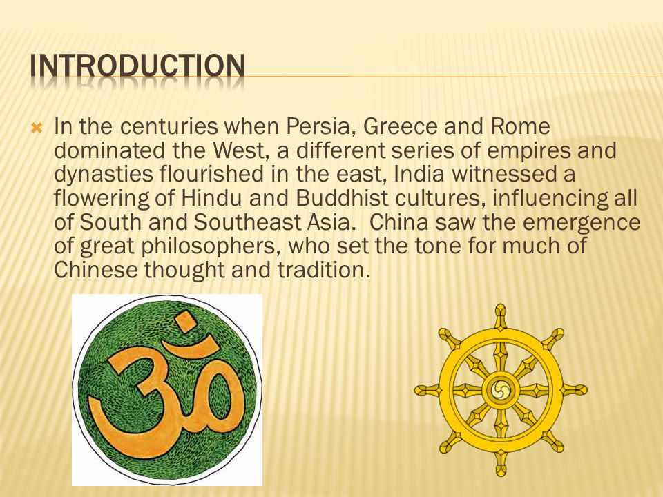 """Chapter 7 Unit 2 The """"Classical Era"""" In The East Ppt Download"""