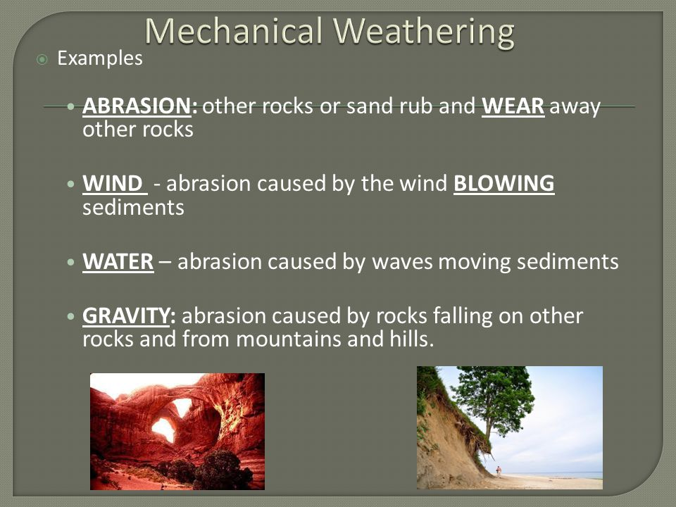Weathering & Soil.