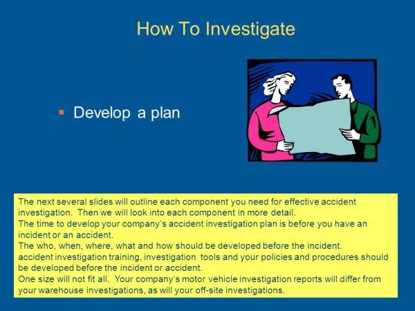 Accident Investigation Basics ppt download