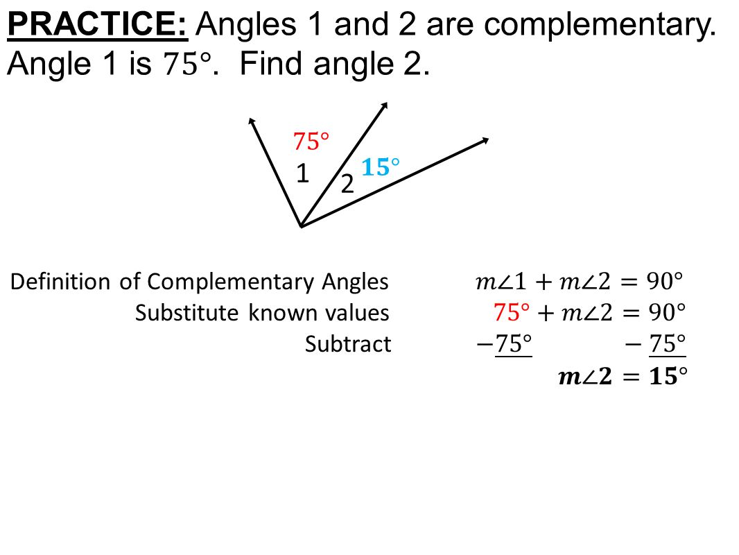 Worksheet Complementary Angles Worksheet Worksheet Fun