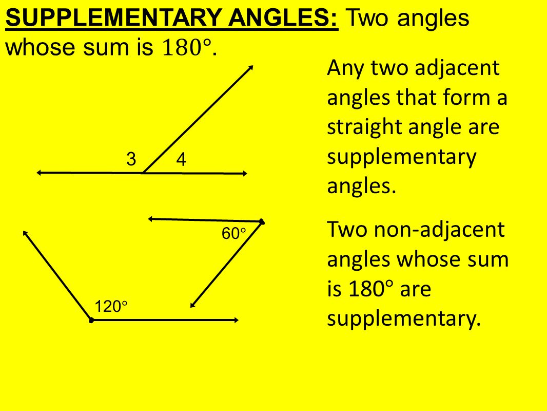 Today In Geometry Learning Goal 1 5 Angle Pair