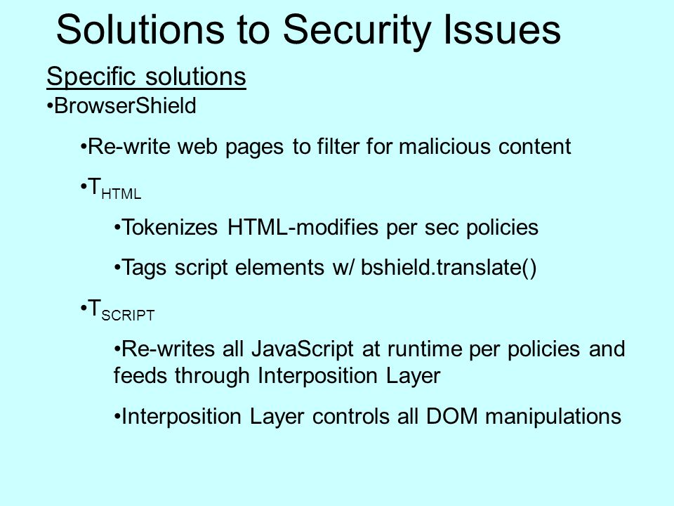Website Security Issues And Solutions