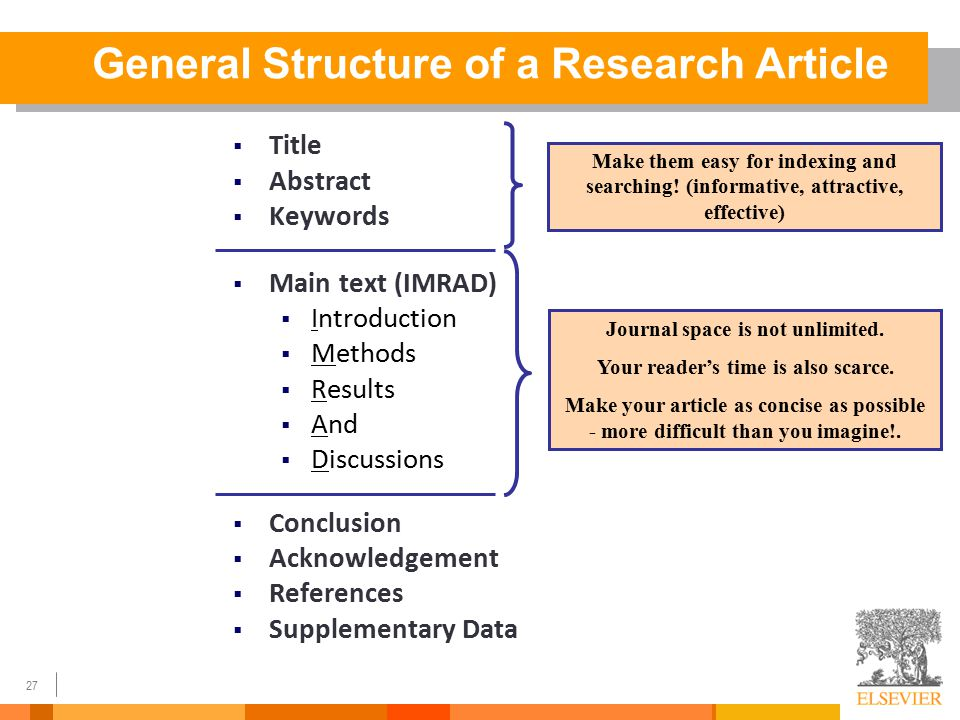 Research Paper Abstract Structure