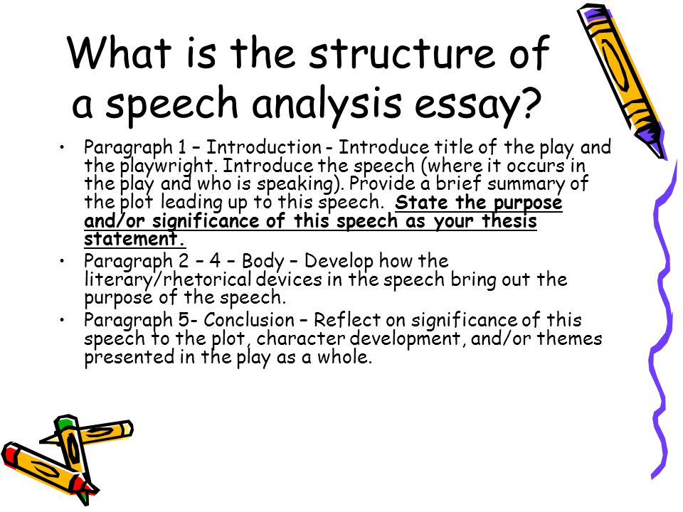 Essay introduction analysis
